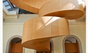 The Art Gallery of Ontario Frank Gehry Staircase